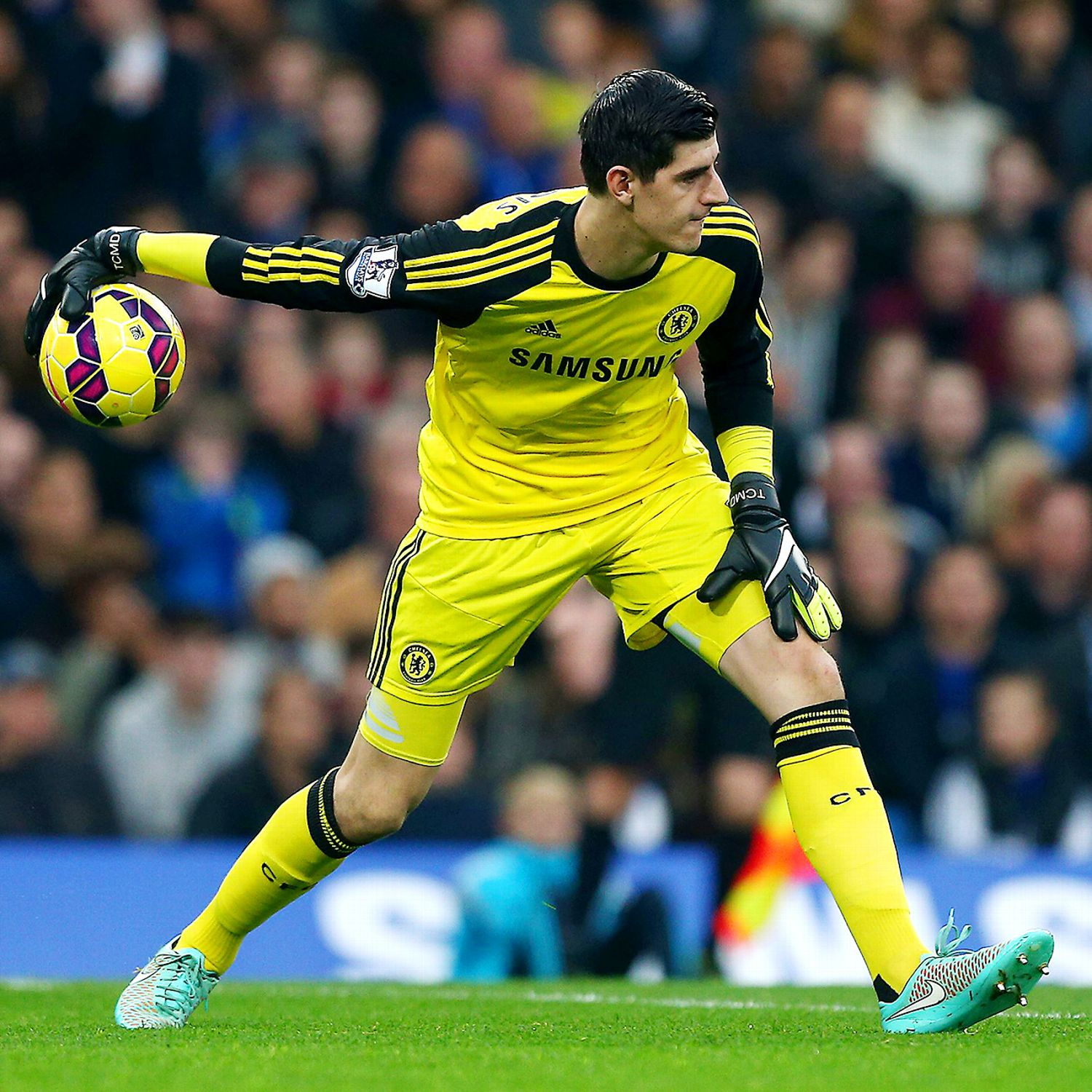 Chelsea Are In Thibaut Courtois' Hands As He Adjusts To