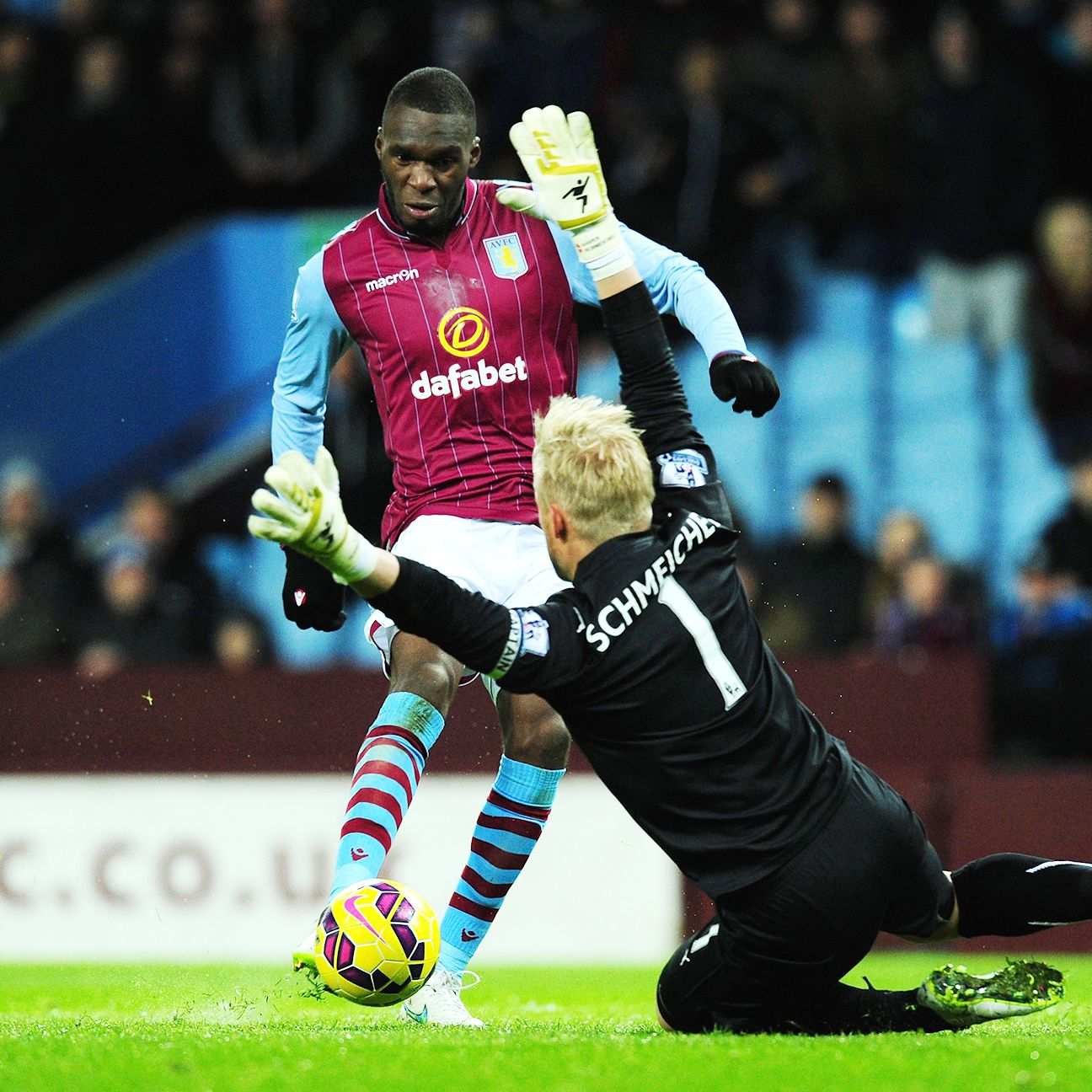 Villa's last win came back in early December against Saturday's opponent, Leicester City.