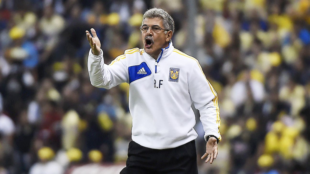 Ricardo Ferretti, who has Tigres in the Copa Libertadores final, is known for defensive, well-disciplined teams.