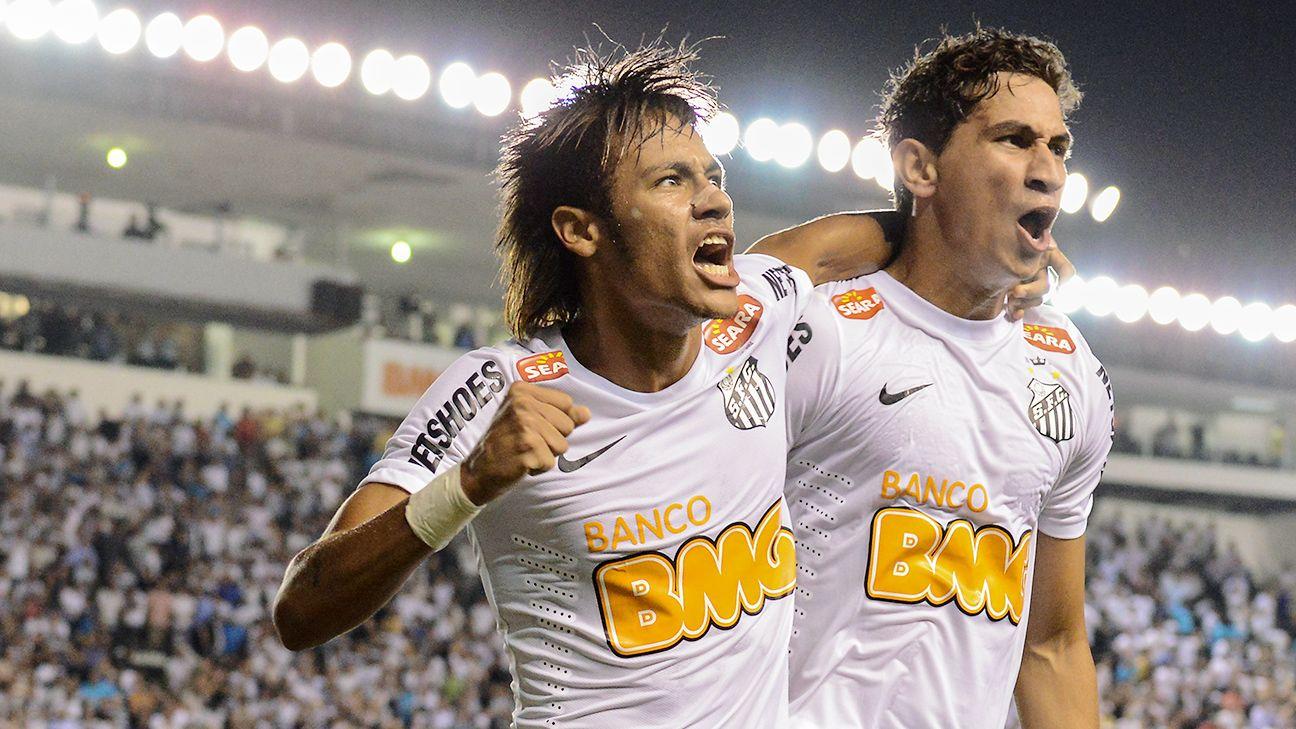 Image result for neymar Santos
