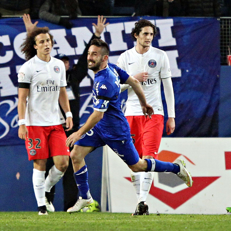 Bastia 0 3 Psg Match Report: PSG Suffer Massive Collapse In Bastia And Fail To Take Top