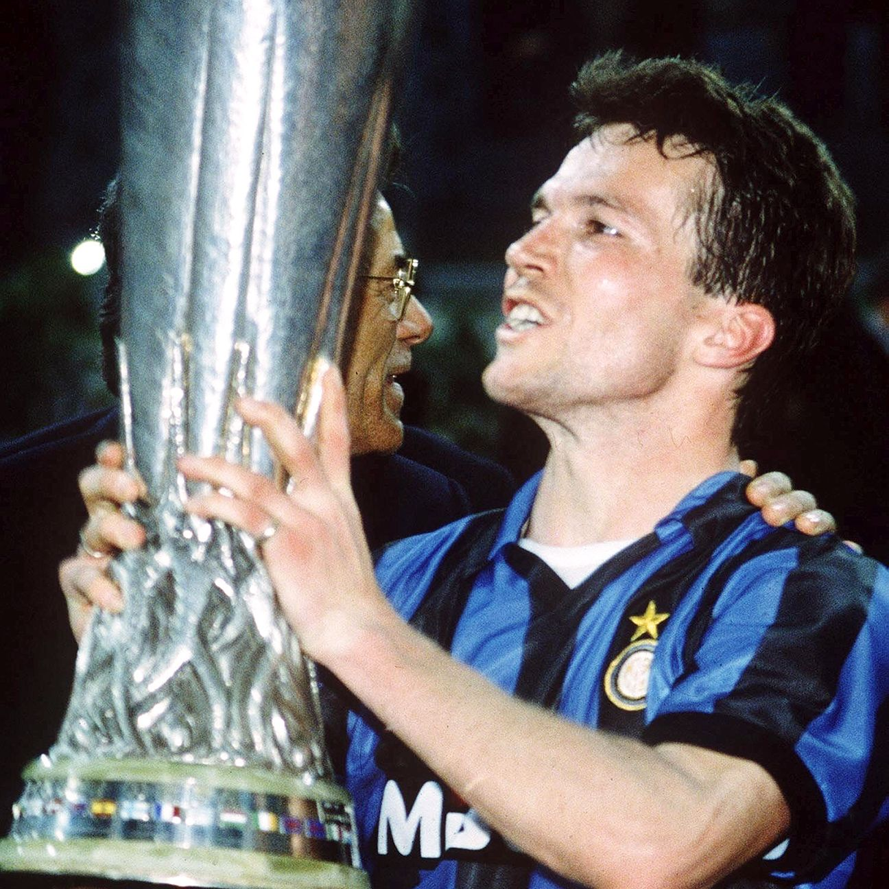 Lothar Matthaus helped the Nerazzurri lift the 1991 UEFA Cup.