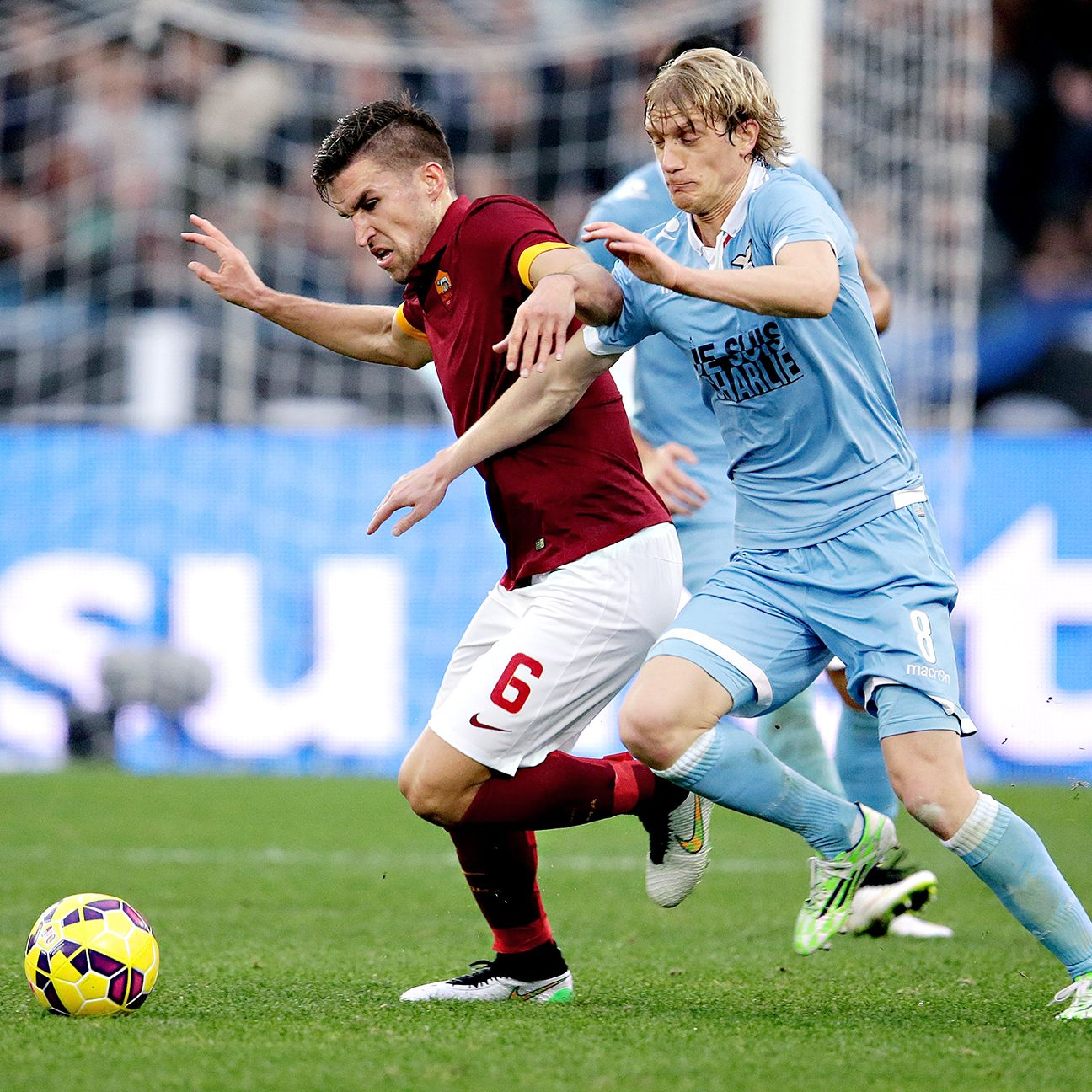 The introduction of Kevin Strootman proved pivotal in Roma's comeback versus Lazio.