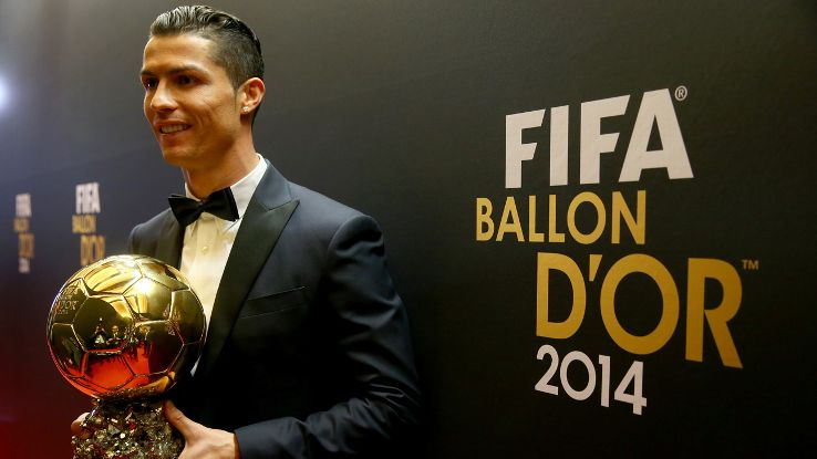 Ronaldo, Messi, Neymar and Suarez on 23-man Ballon d'Or shortlist
