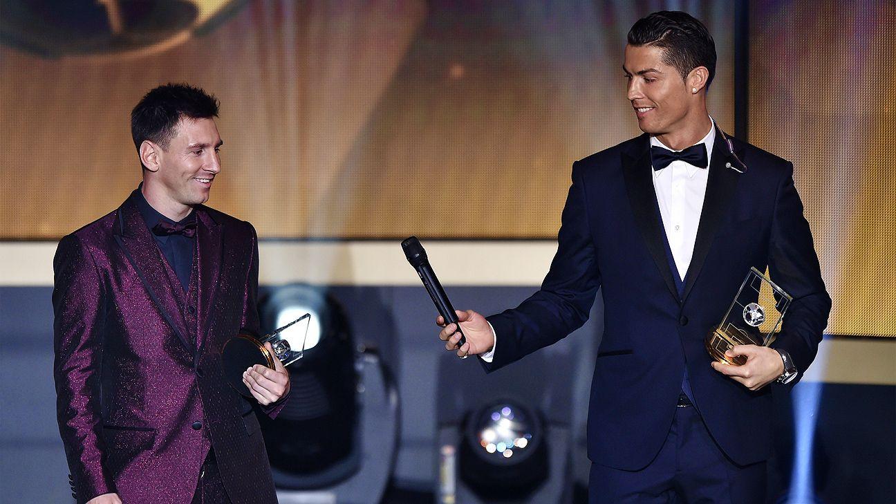 Cristiano Ronaldo picks Lionel Messi to win Ballon d'Or in January