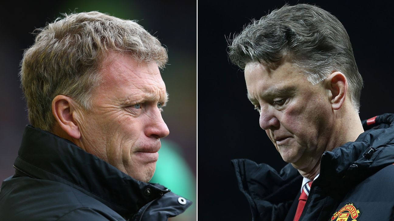 How Do Louis Van Gaal And David Moyes Match Up At