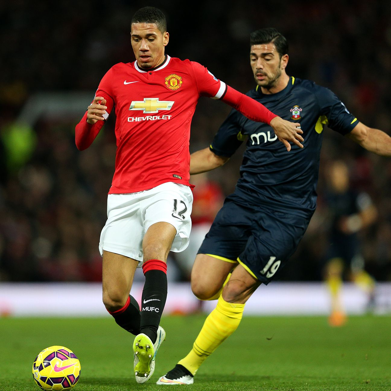 Chris Smalling has started 16 Premier League matches for Manchester United this season.