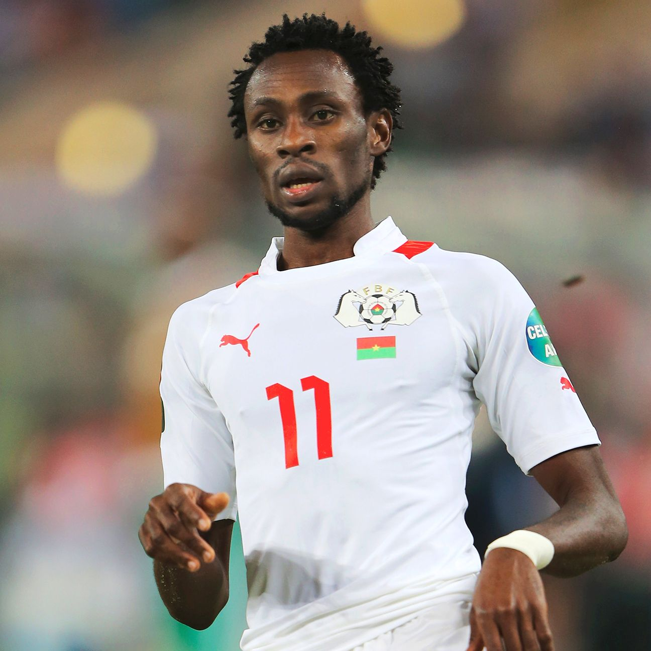 Jonathan Pitroipa will hope to lead Burkina Faso on another deep run at the African Nations Cup.
