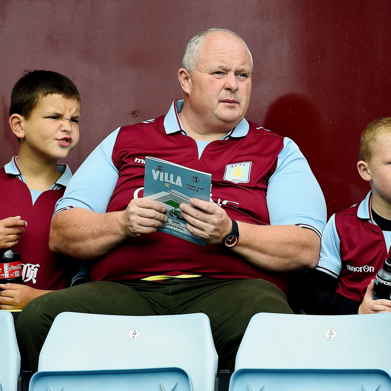 Aston Villa fans young and old are frustrated with the unstable state of the club.