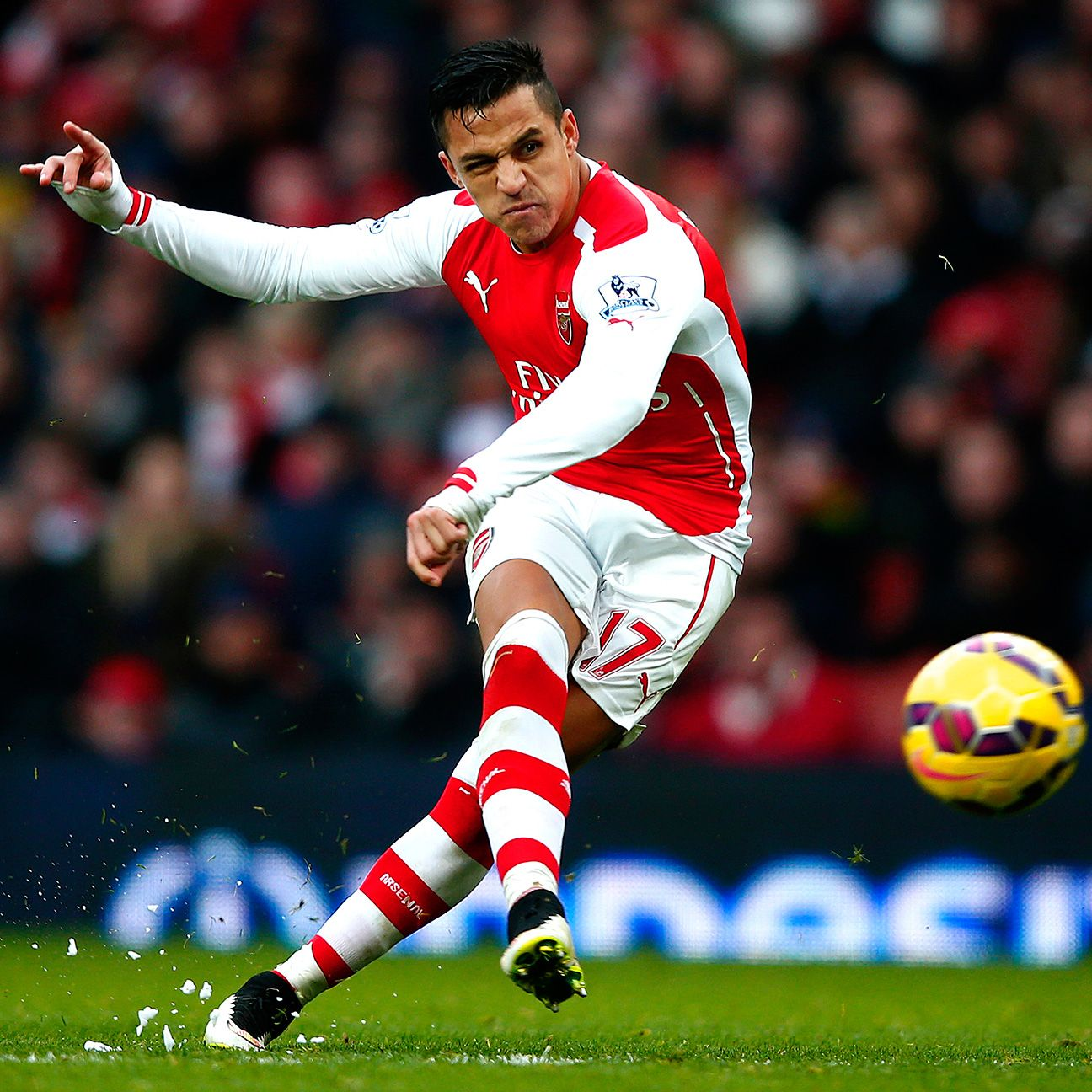 Alexis Sanchez may be Arsenal's leading scorer, but he is far from being the sole provider at the Emirates.