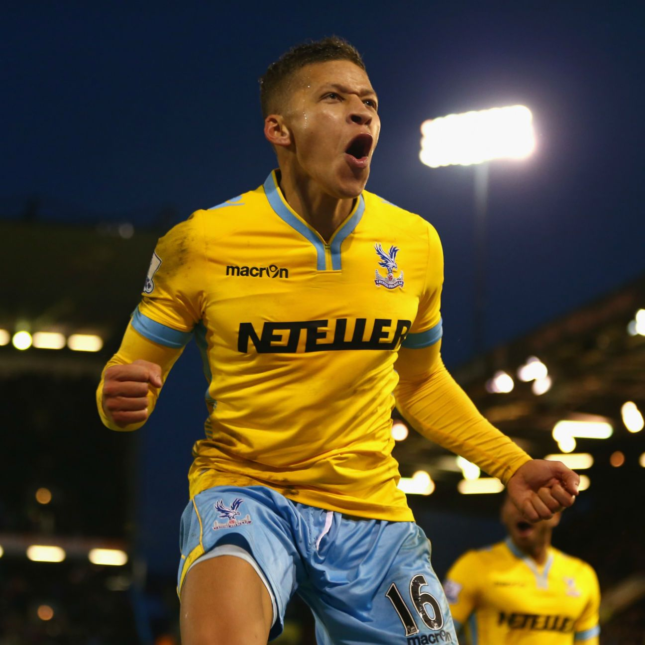 Dwight Gayle had five goals in 25 Premier League matches with Crystal Palace in 2014-15.