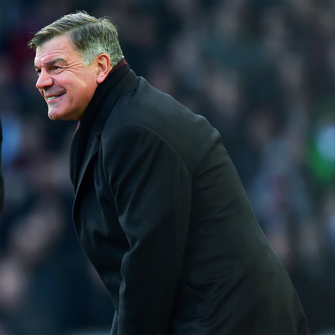 West Ham boss Sam Allardyce had every reason to smile after his team's second half performance.