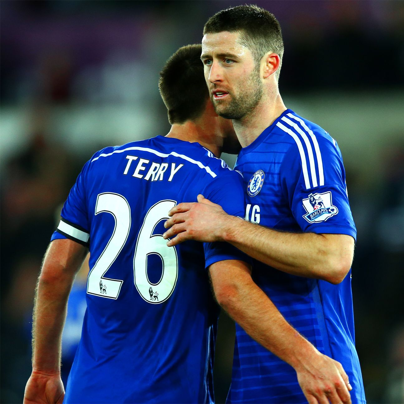 Gary Cahill and John Terry helped the Chelsea defence secure their third straight clean sheet on Saturday versus Swansea.