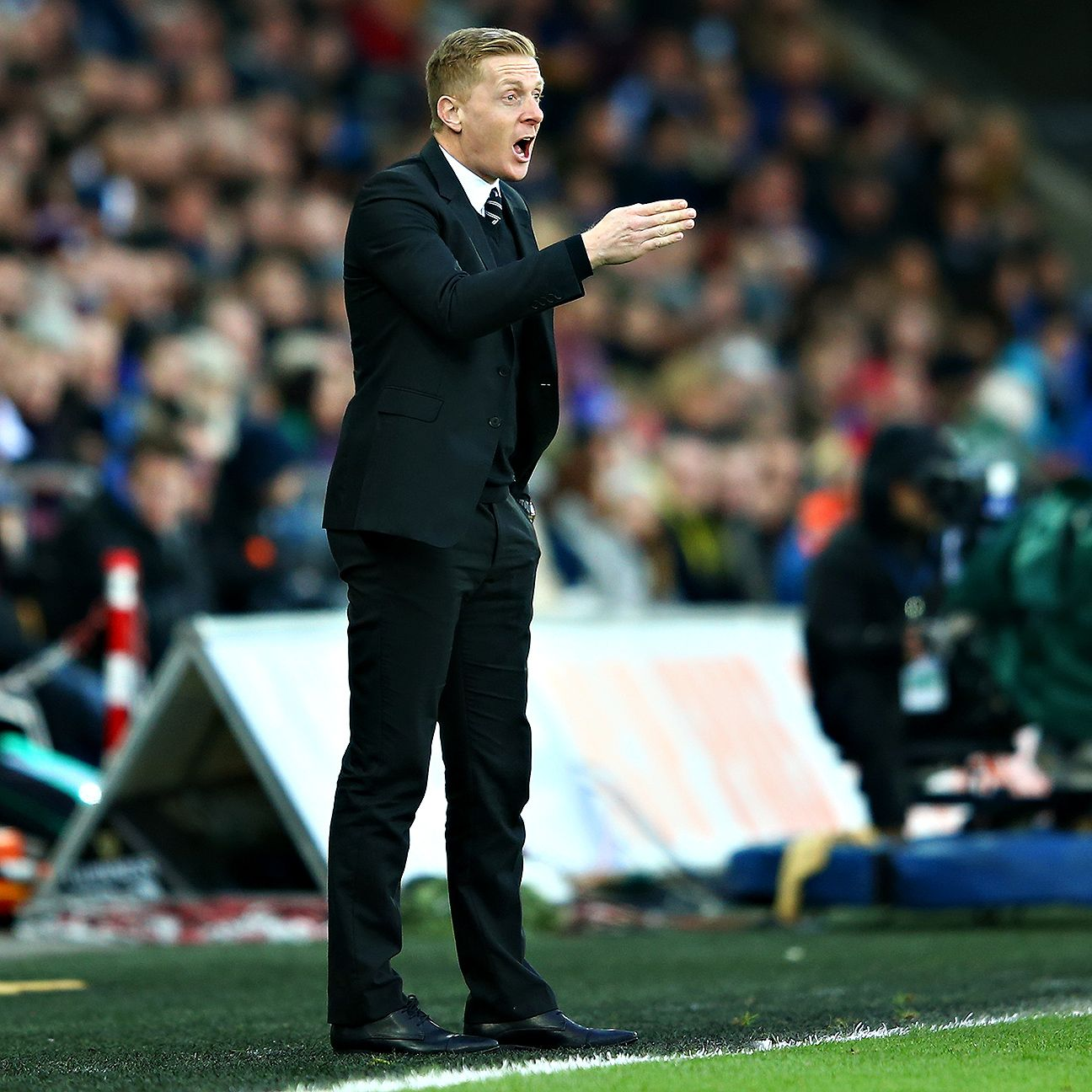 Garry Monk's Swansea have just one Premier League victory since Aug. 30.