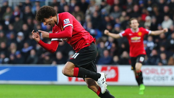 Marouane Fellaini's introduction at halftime proved vital for Manchester United at QPR.