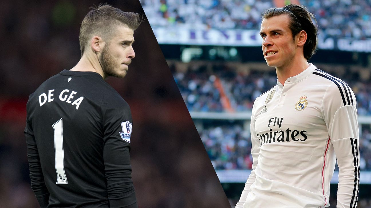 Man United may offer £65m plus David De Gea for Real Madrid's Gareth Bale