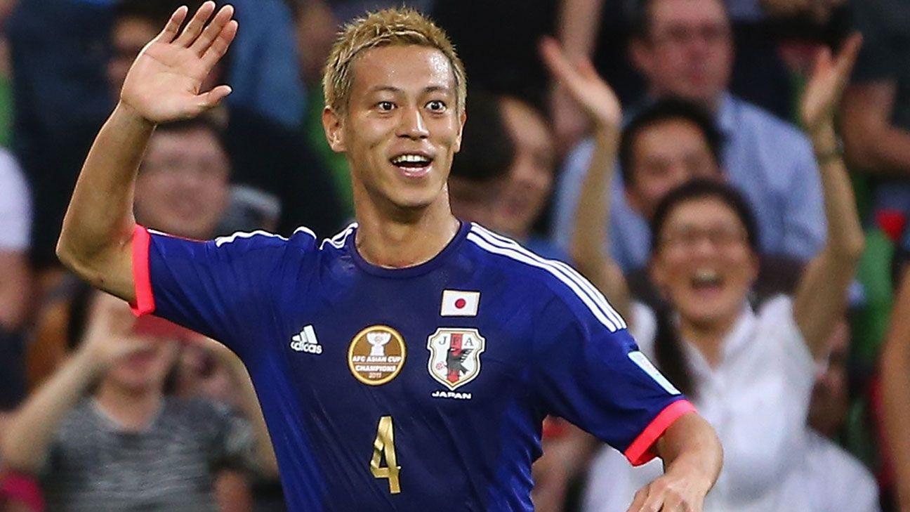Keisuke Honda moving to Mexico will help Japan s World Cup hopes