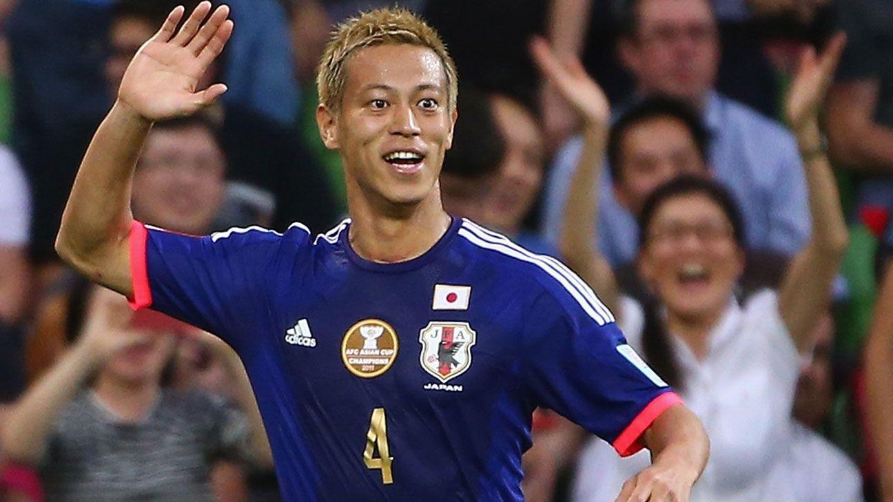 keisuke honda moving  mexico   japans world cup hopes espn fc