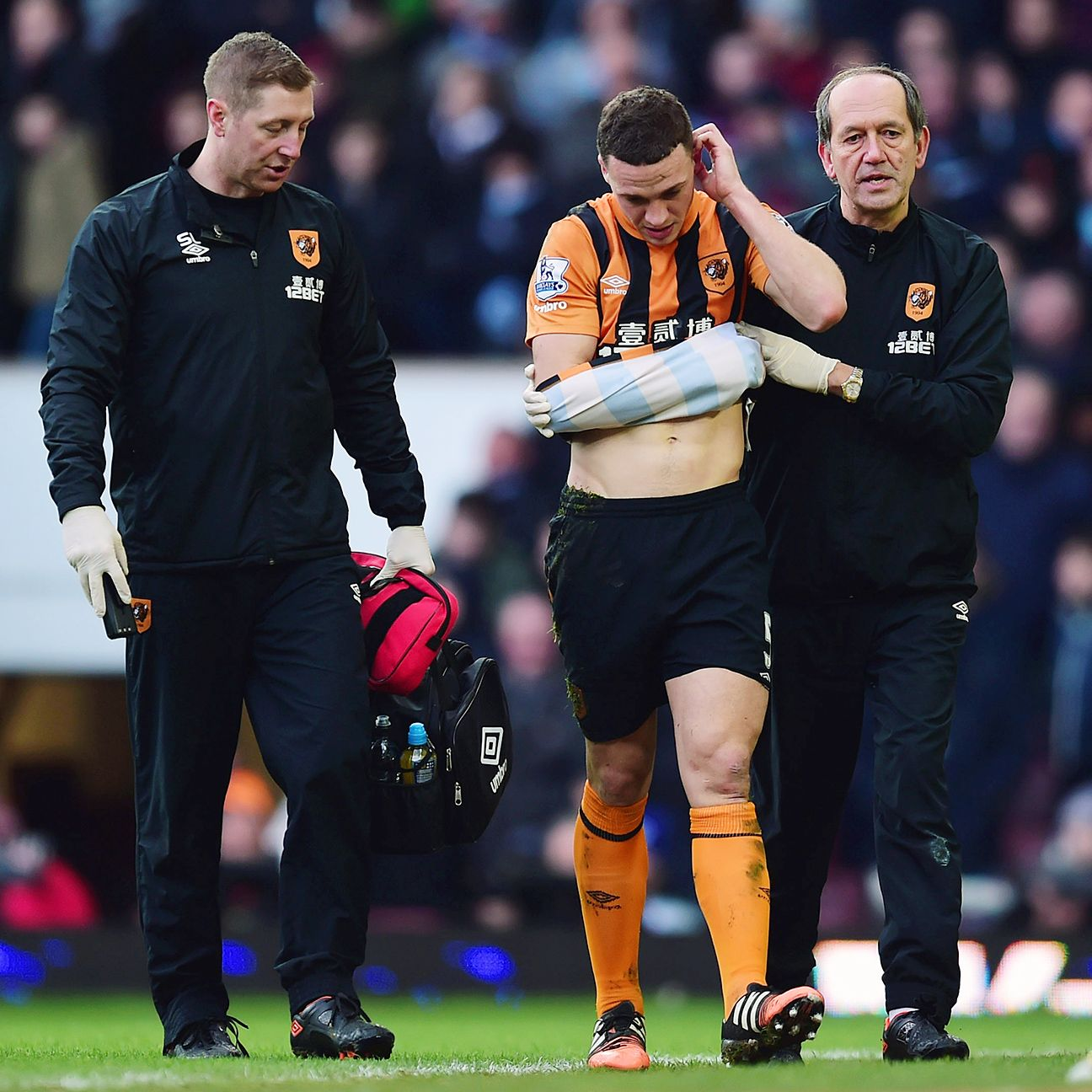 James Chester is the latest player to join Hull's ever-growing injury list.