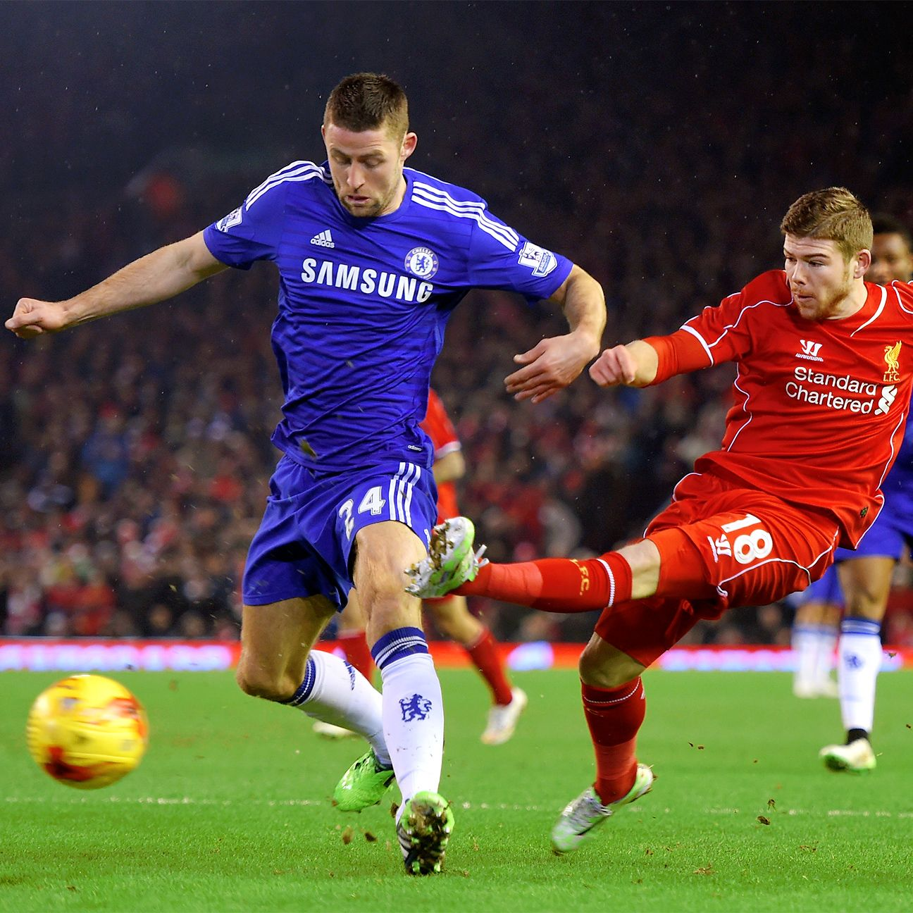 Gary Cahill and the Chelsea defence put in a workmanlike effort against Liverpool on Tuesday.
