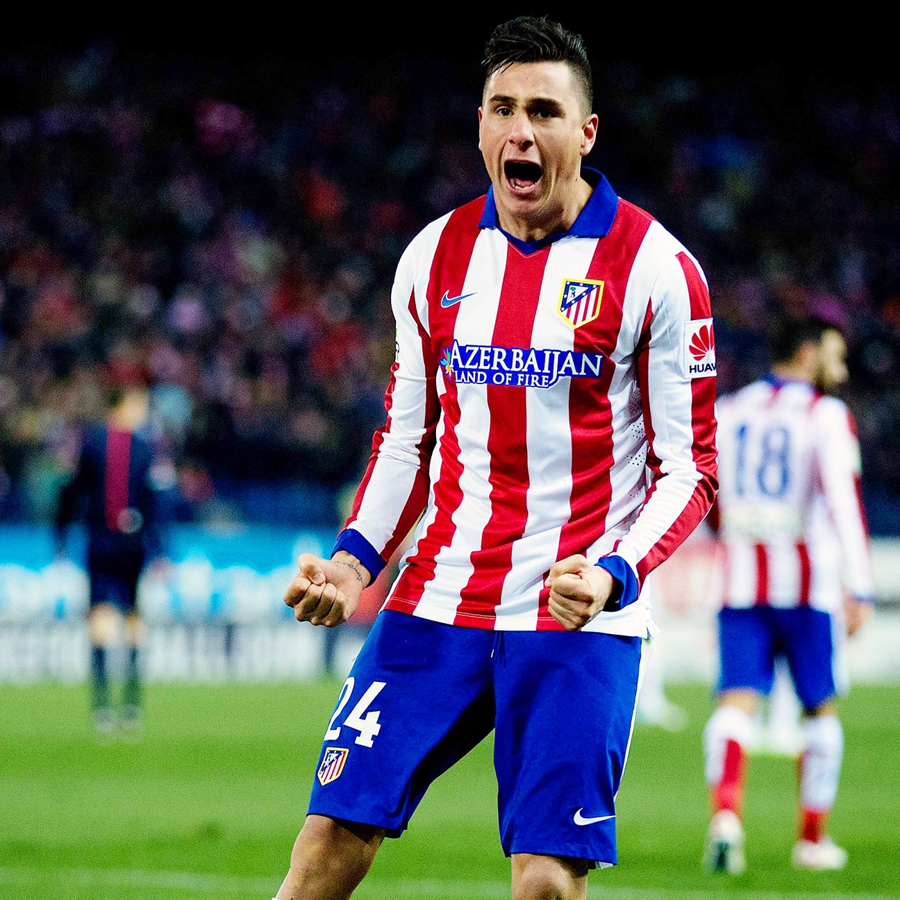 Youngster Jose Maria Gimenez is making a strong case to be paired with Diego Godin at centre-back in Atletico Madrid's Champions League quarterfinal.