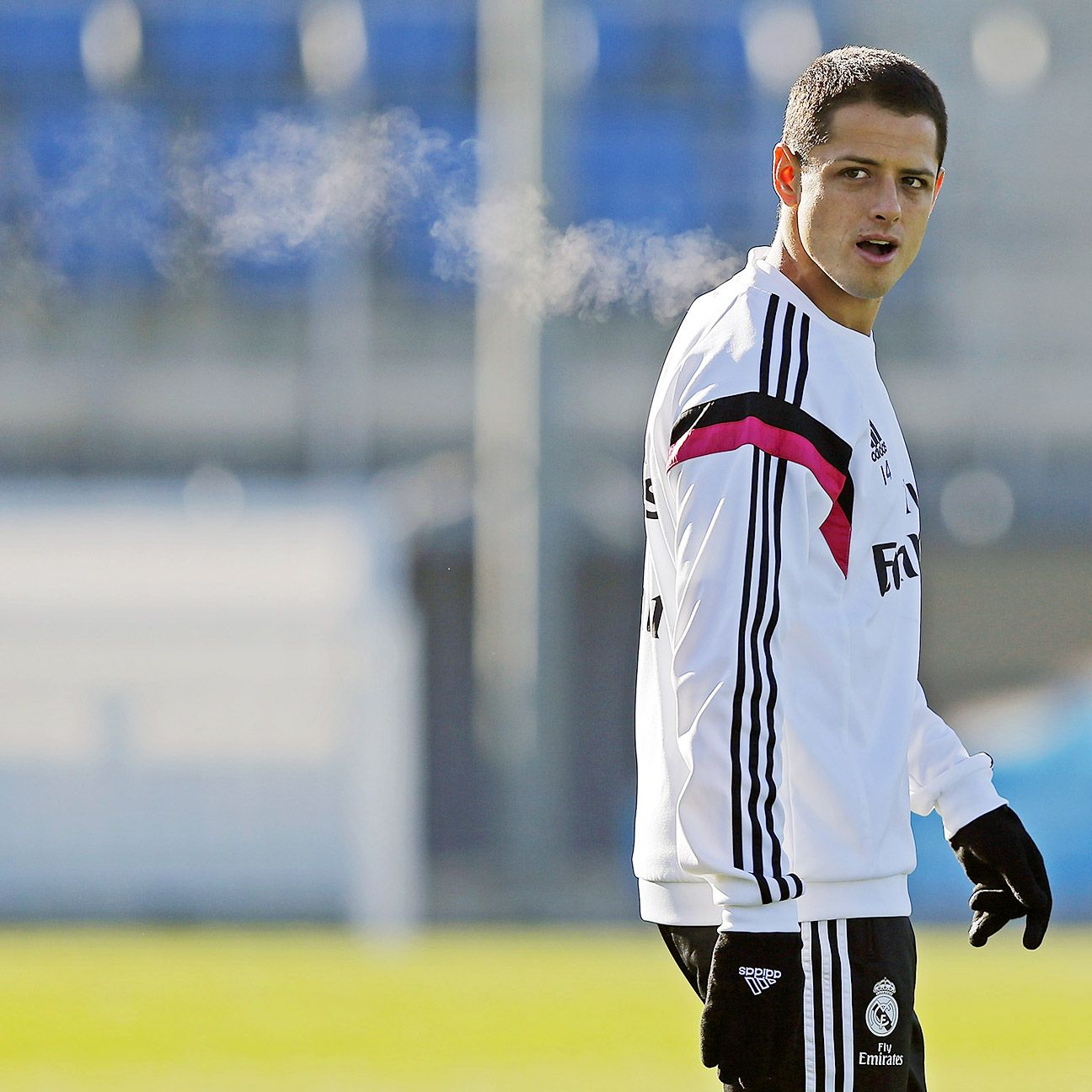 Chicharito Hernandez has made just one appearance for Real Madrid since the new year.