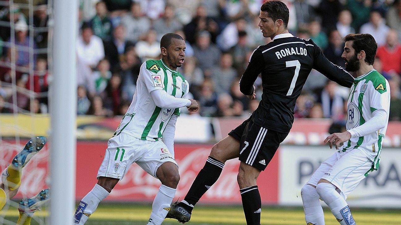 Real Madrid's Cristiano Ronaldo 'is forgiven,' says Cordoba's Edimar