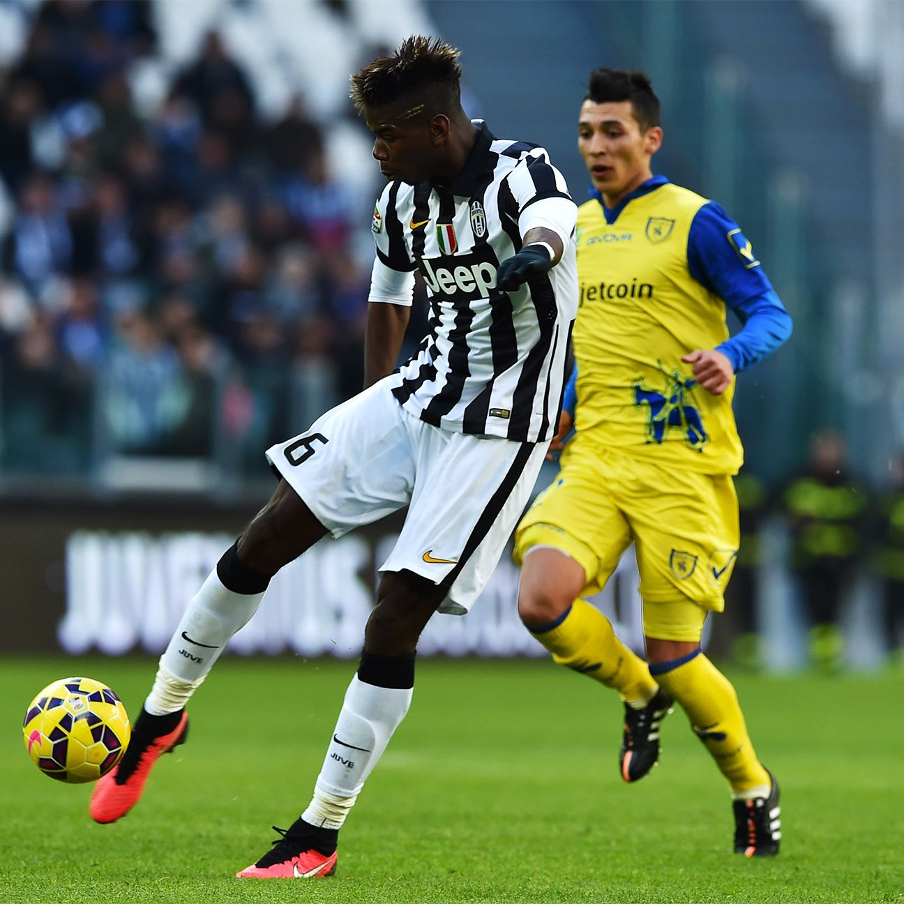 With the Juventus attacking line out of sorts, Paul Pogba stepped forward to lead the Serie A leader to victory.