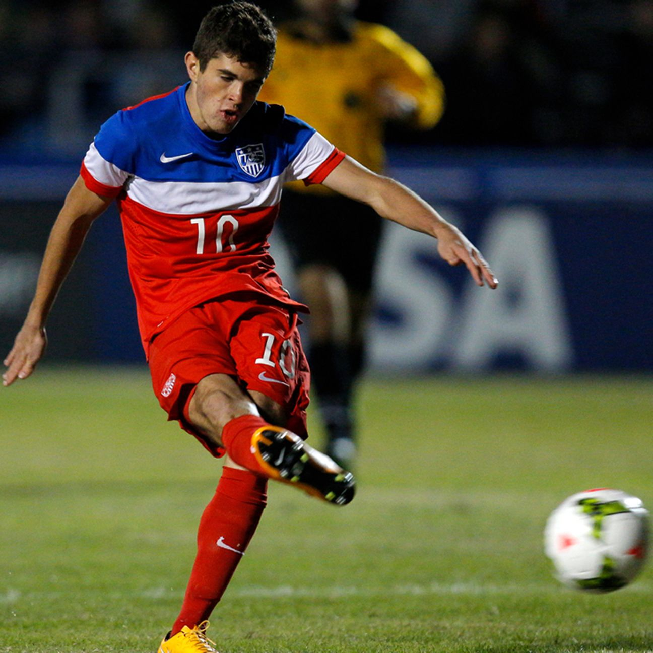 Attacking midfielder Christian Pulisic is one of the Yanks' key offensive weapons.