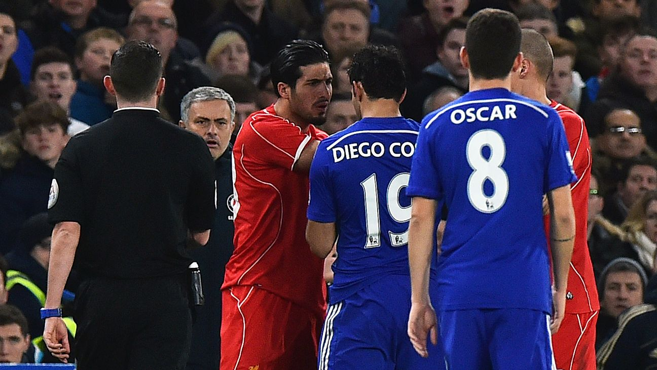Chelsea Slavia Detail: Diego Costa Charged Over Stamp On Emre Can Against