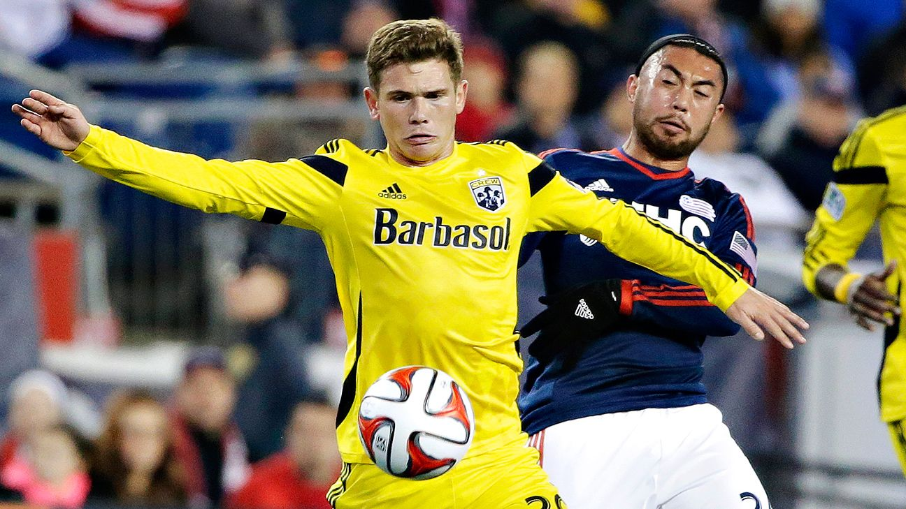 Columbus Crew midfielder Wil Trapp impressed at the USMNT's January camp.