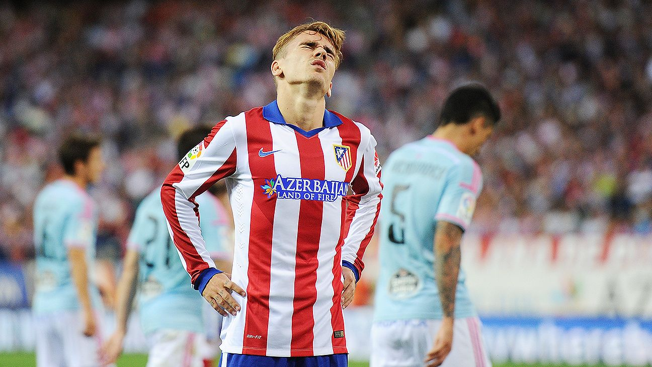 Antoine Griezmann endured his share of struggles in the early stages of Atletico's season.