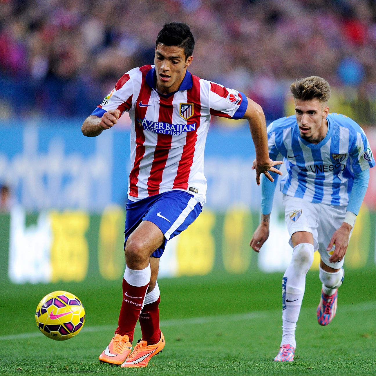 Raul Jimenez's last start for Atletico was last month in a Copa del Rey match versus Segunda B side  Hospitalet.
