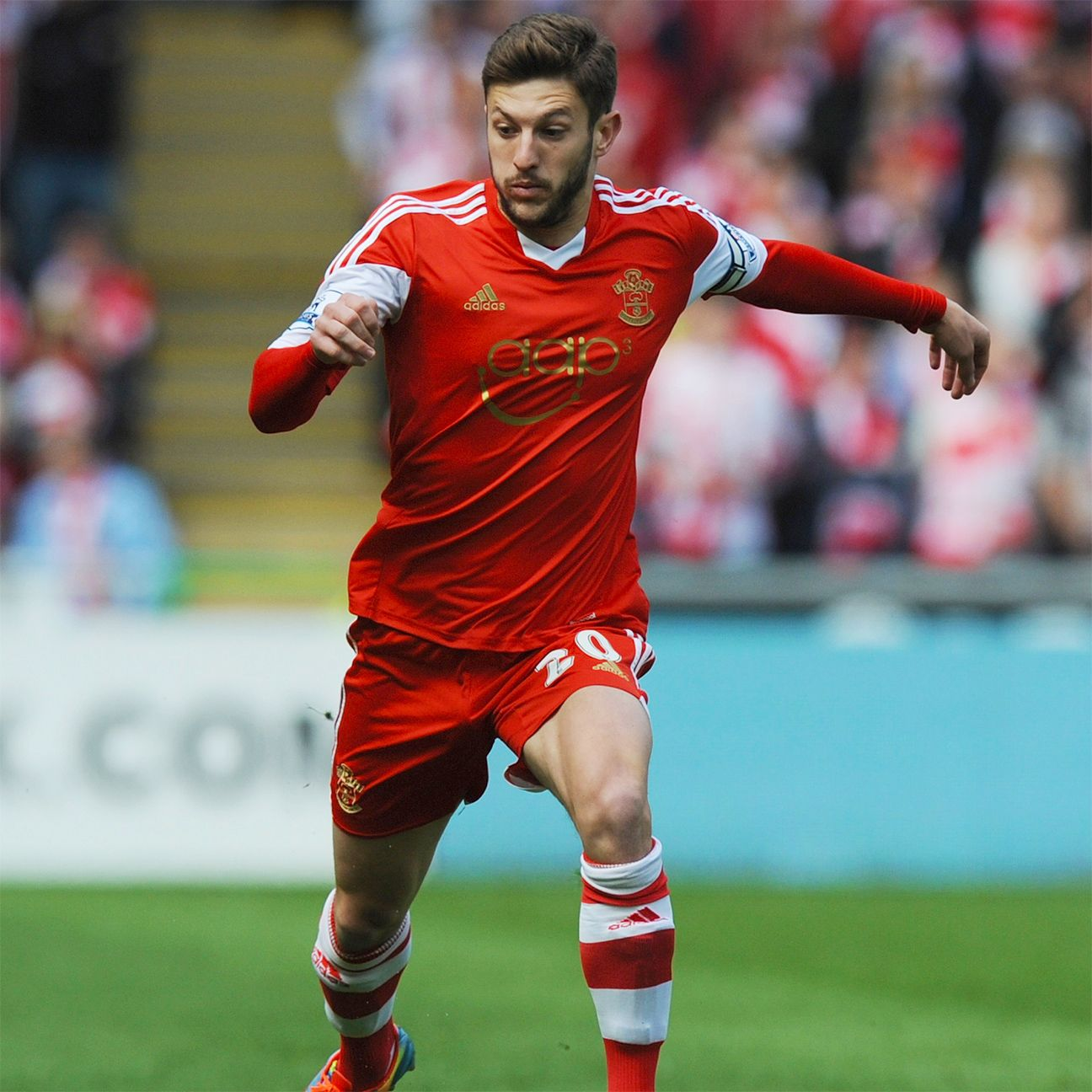 Adam Lallana is one of the many products of the Southampton youth system.
