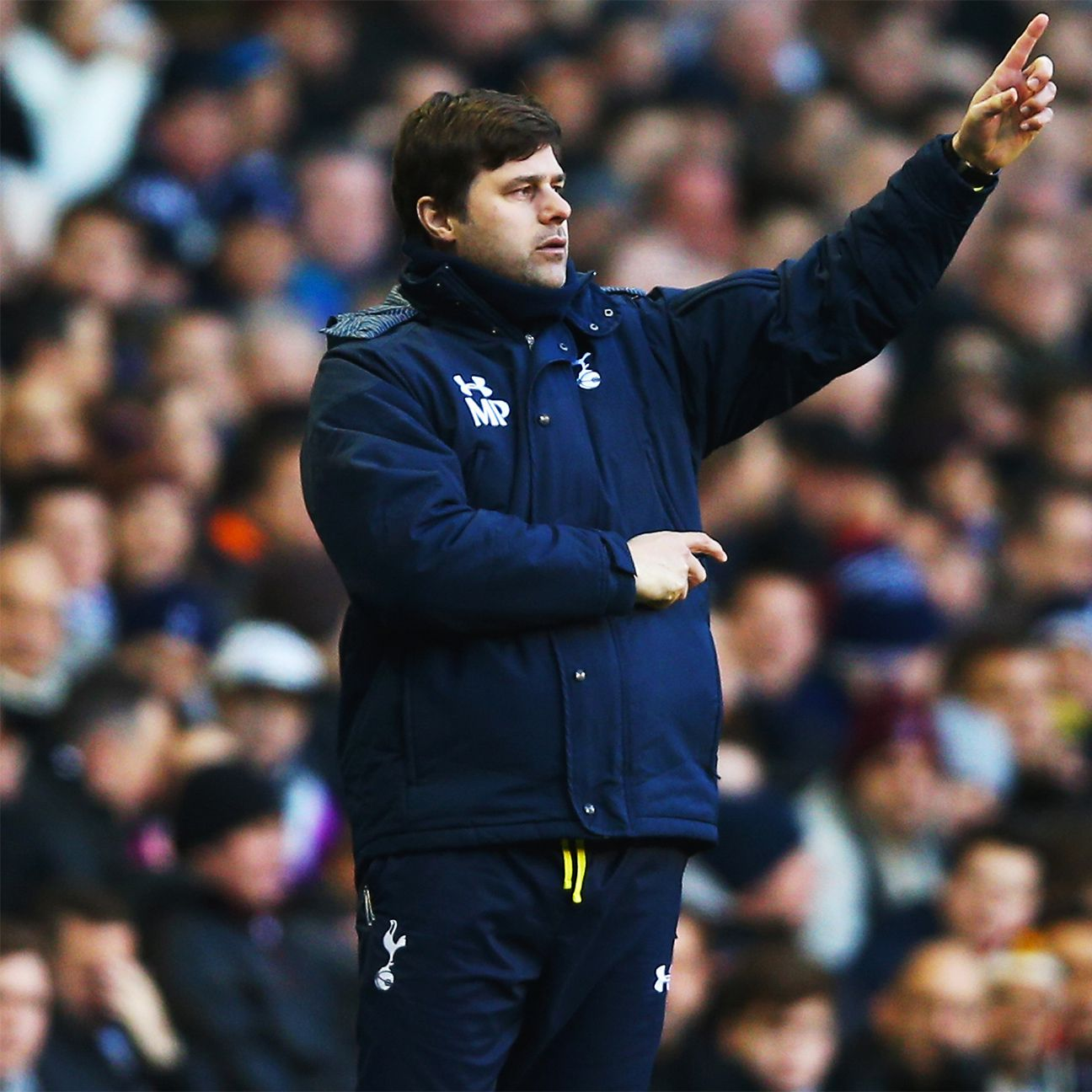 Tottenham boss Mauricio Pochettino has shied away from giving chances to fringe players in 2015-16.