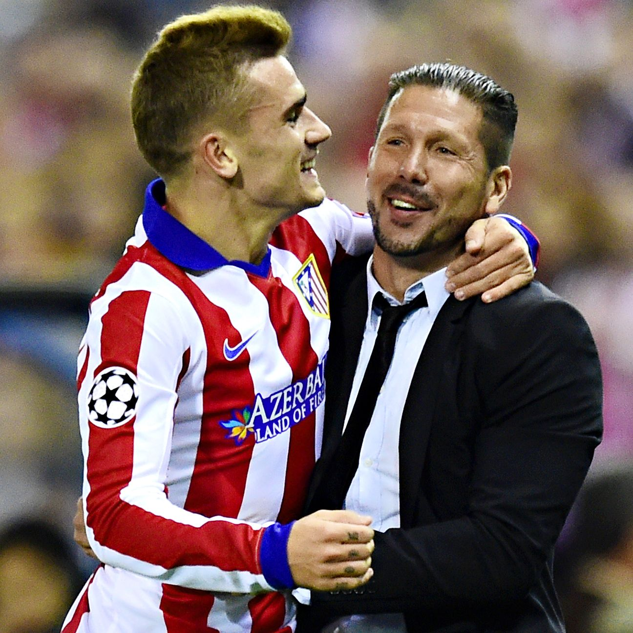 Under the tutelage of manager Diego Simeone, Griezmann has emerged as a scoring threat for Atletico.