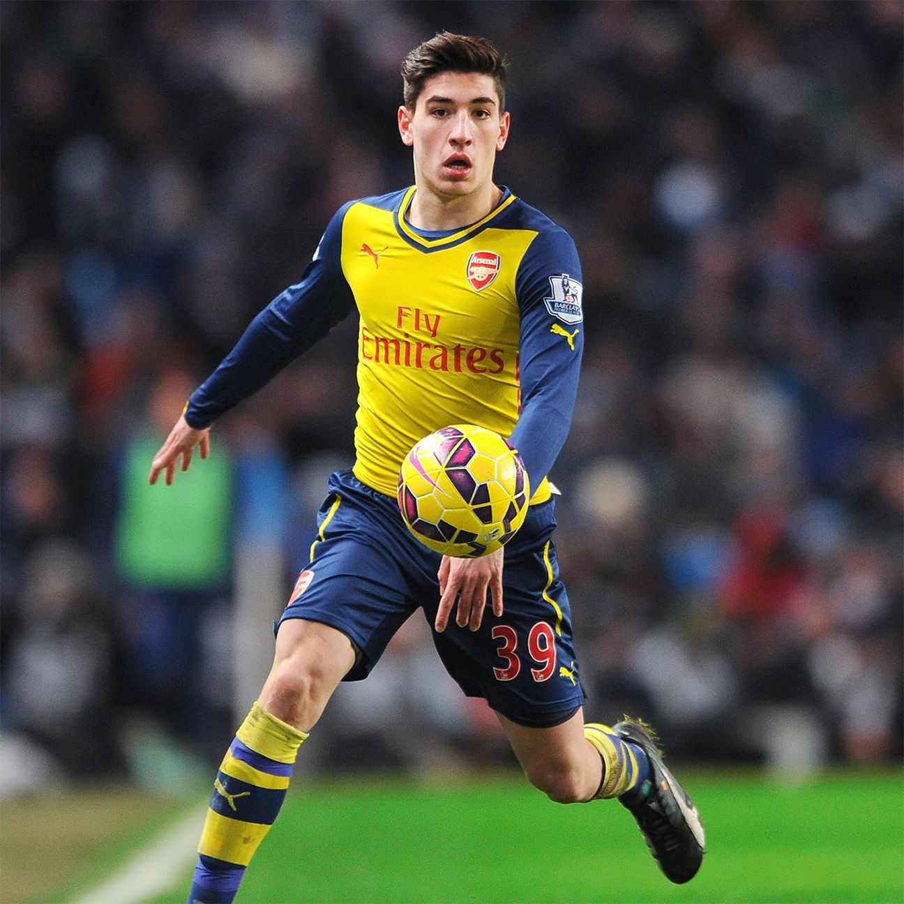 Arsenal are unbeaten in Premier League matches in which Hector Bellerin has started.