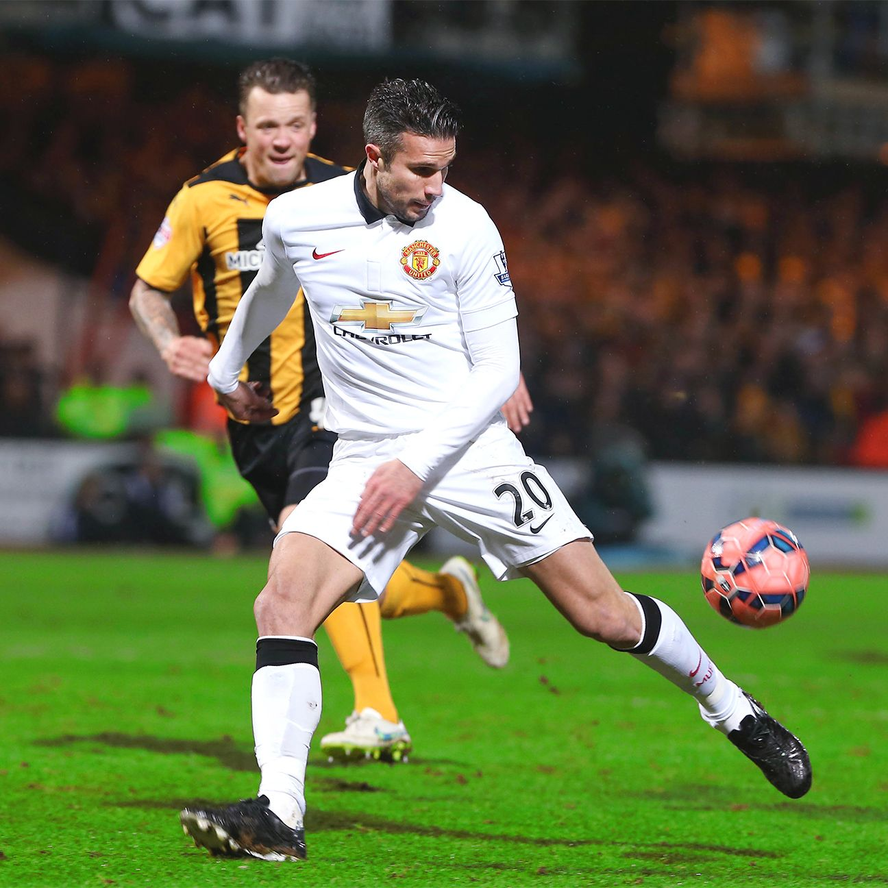 Season three has been a struggle for Robin van Persie at Manchester United.