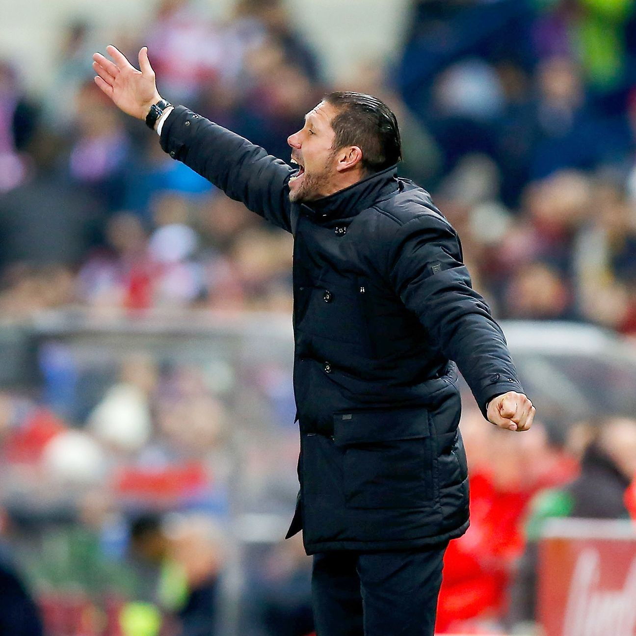Diego Simeone's defence was unable to contain the explosive Barcelona attack in Wednesday's Copa del Rey quarterfinal return leg at the Vicente Calderon.