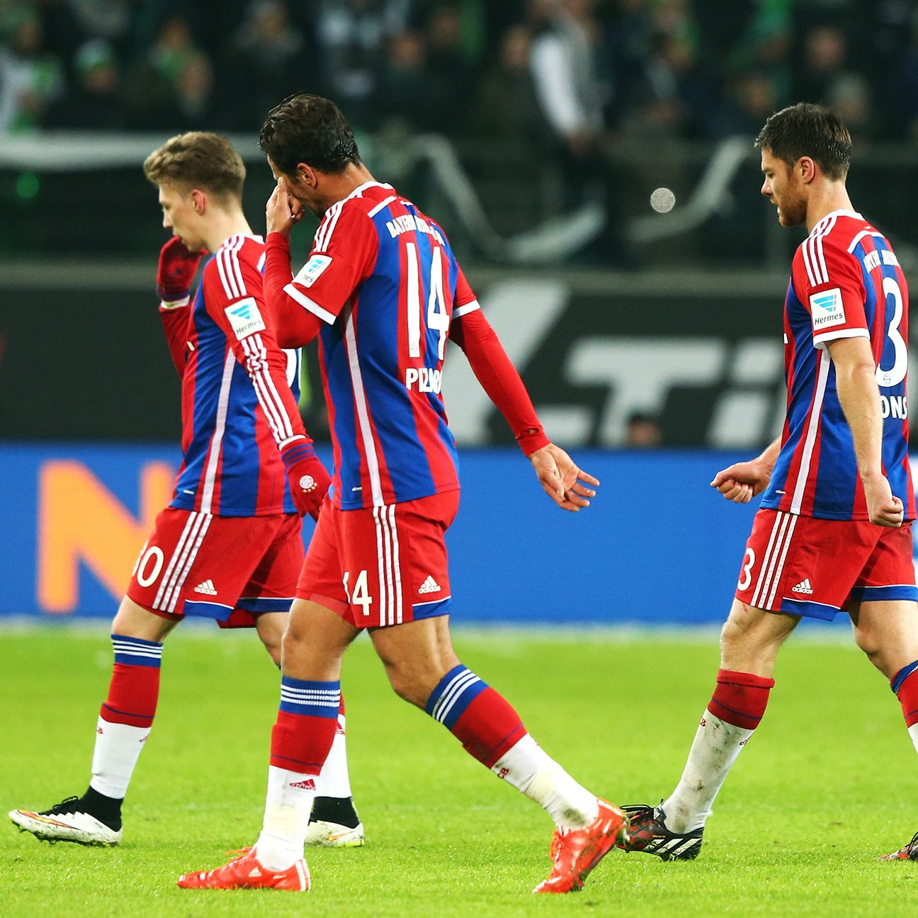 Bayern's unbeaten Bundesliga campaign came to a screeching halt on Friday at Wolfsburg.