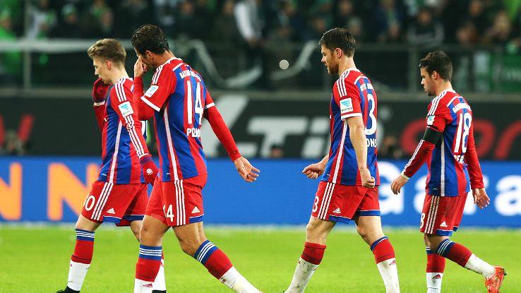 Bayern's unbeaten Bundesliga campaign came to a screeching halt on Friday at Wolfsburg.