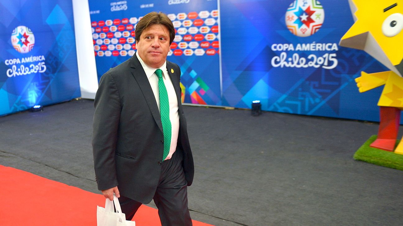 In addition to the Gold Cup, Miguel Herrera's Mexico will also be competing this summer in the Copa America.