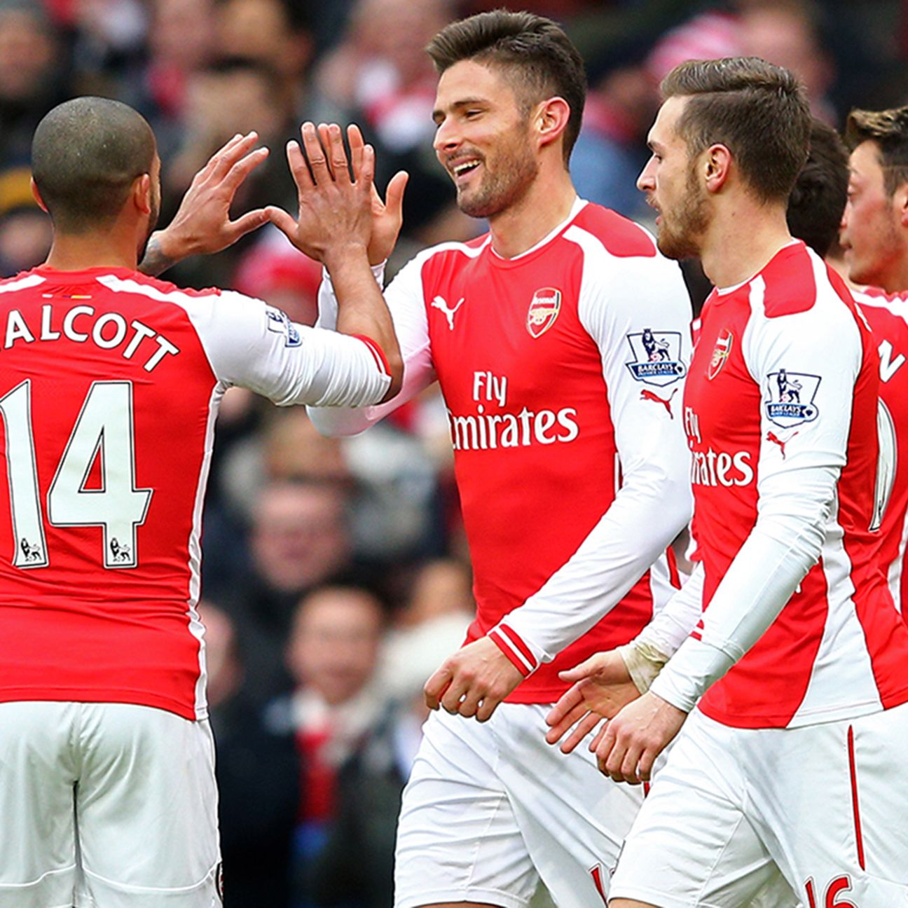 Despite being behind Southampton in the table, Arsenal projects to finish above the Saints.