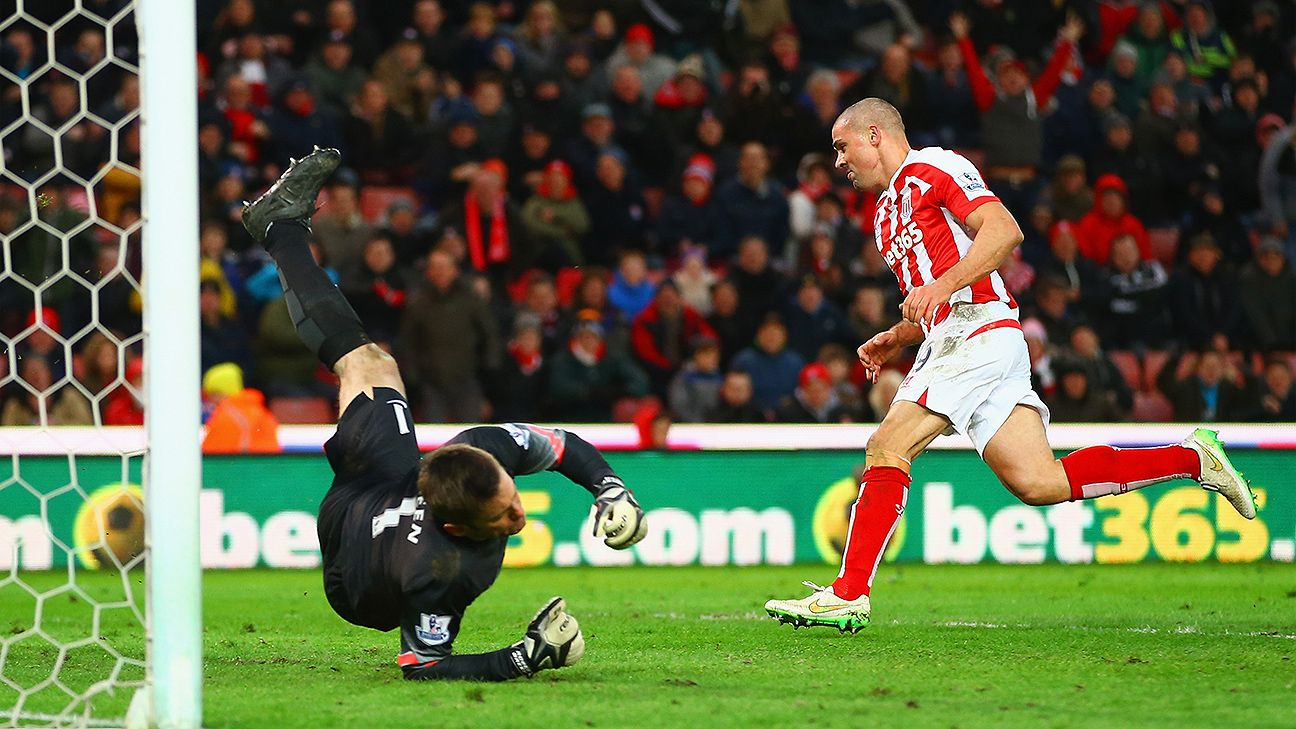 Jonathan Walters scored his fifth, sixth and seventh Premier League goals of the season on Saturday versus QPR.