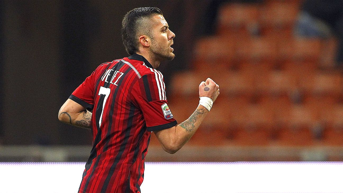 Jeremy Menez and Milan now have their sights set on next week's clash with leaders Juventus.