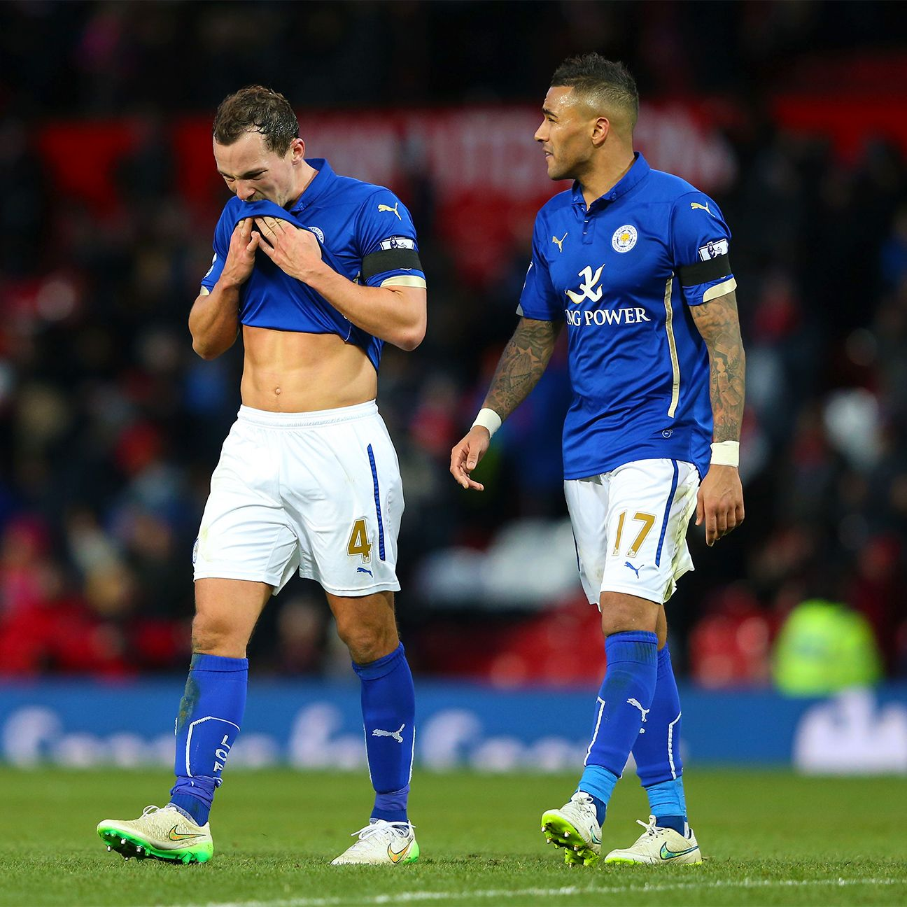 Despite defeat at Old Trafford, Leicester City did not lose ground to their relegation rivals over the weekend.