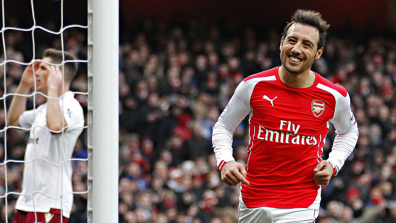 The play of Santi Cazorla was a major reason for Arsenal's renaissance in the second half of the 2014-15 season.