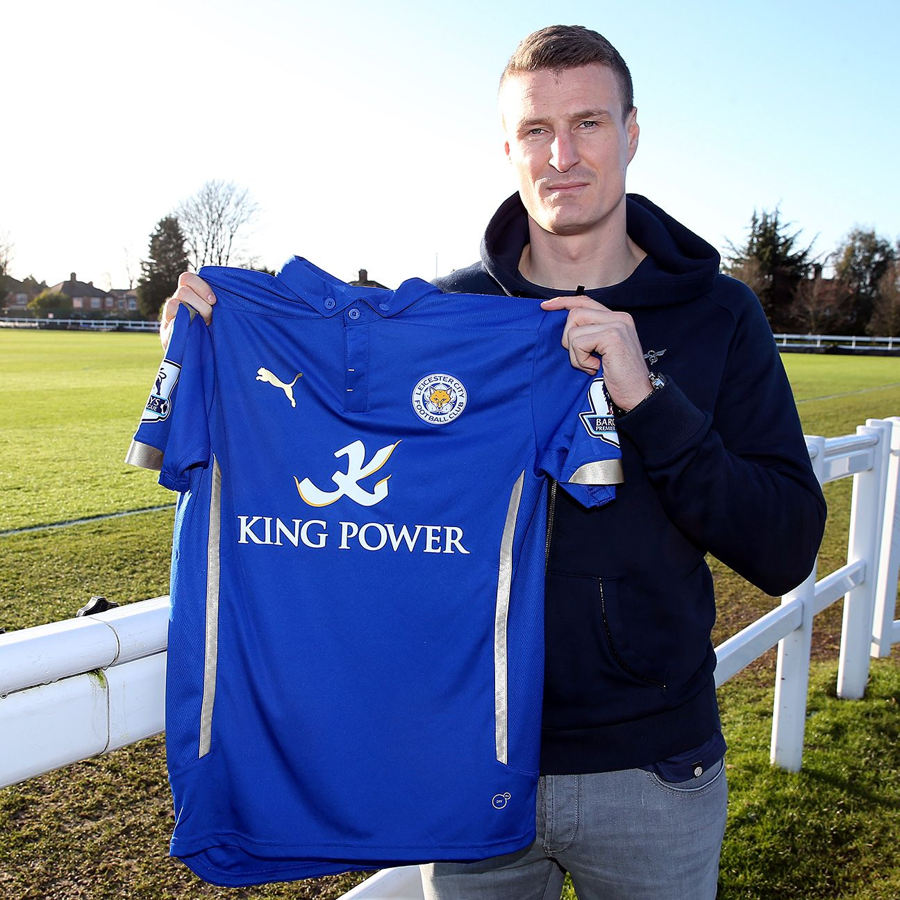 Robert Huth's arrival from Stoke gives Leicester City a commanding presence on their back line.