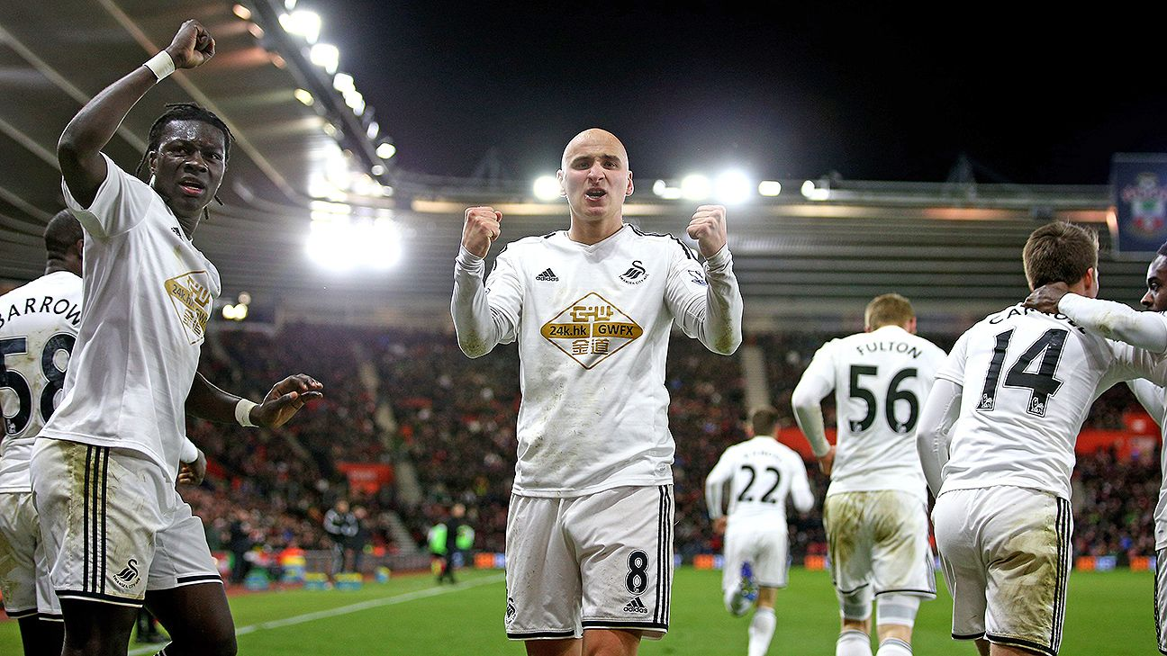 Jonjo Shelvey has thrived playing in the No.10 role for Swansea in place of the suspended Gylfi Sigurdsson.