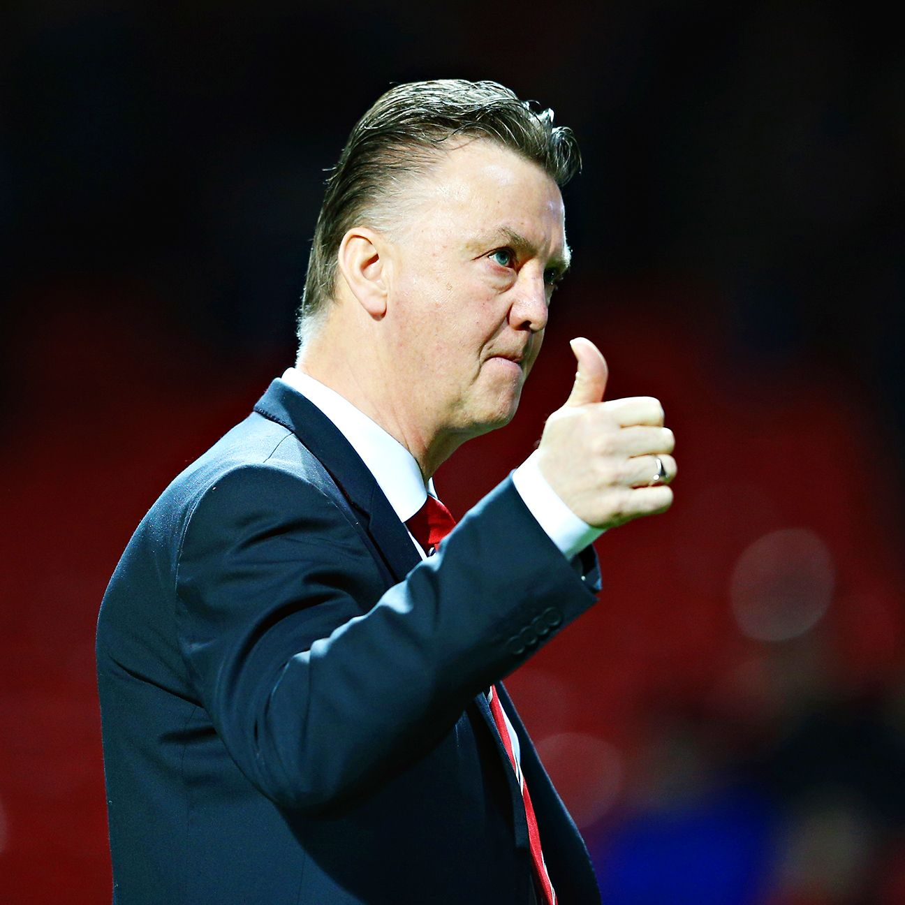 Louis van Gaal's Manchester United emerged victorious in 20 of 38 Premier League matches during 2014-15.